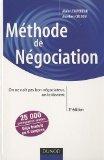 Méthode de négociation - On ne naît pas bon négociateur, on le devient